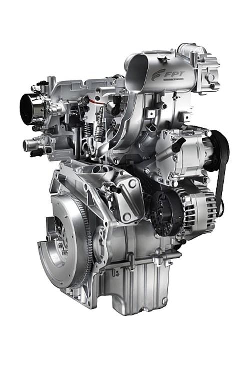"""Kraftzwerg: der Zweizylinder- """"TwinAir""""-Motor von Fiat steckt unter anderem im 500."""