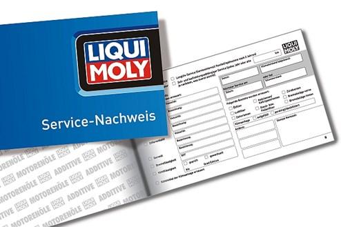 Wichtig für potentielle Käufer: das Serviceheft.