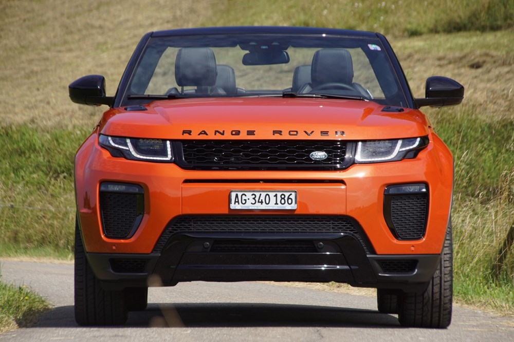land rover range rover evoque range rover evoque cabrio. Black Bedroom Furniture Sets. Home Design Ideas