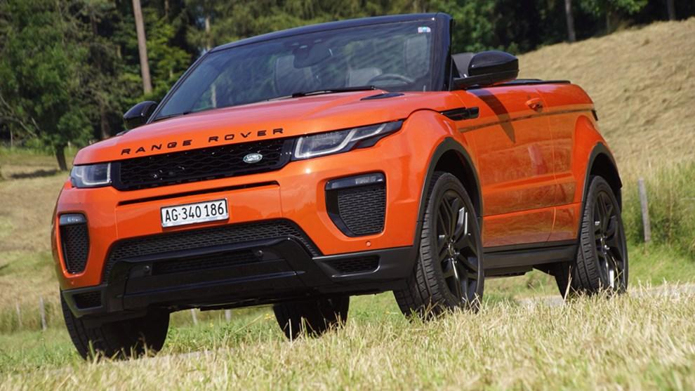 land rover range rover evoque range rover evoque cabrio. Black Bedroom Furniture Sets. Home Design Ideas