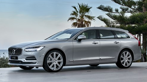 VOLVO V90 -  V90 – Le nouveau grand break de Volvo