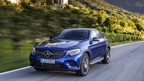 MERCEDES-BENZ GLC-CLASS - Mercedes GLC Coupe – Der Flachmann