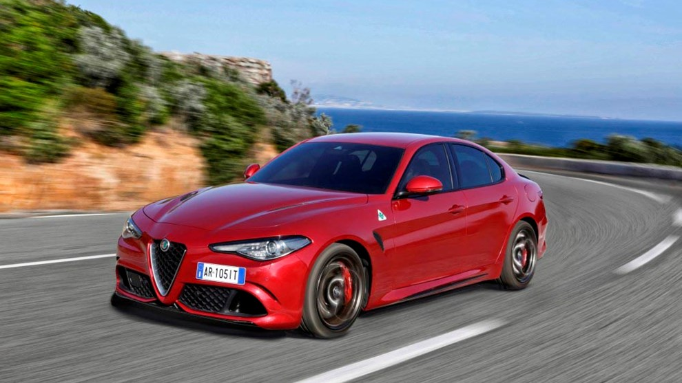 alfa romeo giulia alfa romeo giulia im test. Black Bedroom Furniture Sets. Home Design Ideas