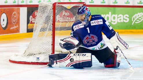 Interview mit EHC Biel Goalie Jonas Hiller