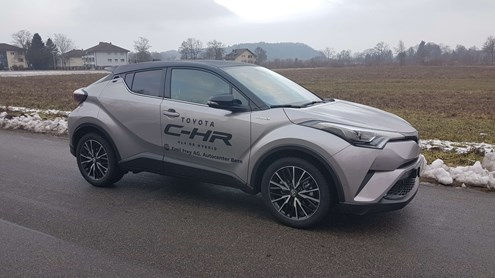TOYOTA C-HR - ein SUV-Coupé in Gestalt eines Crossovers