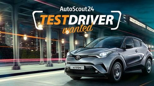 Toyota C-HR – TestDriver wanted für den dynamischen SUV