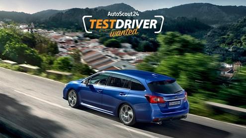 Etes-vous notre TestDriver pour le Subaru Levorg?