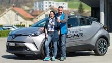 TOYOTA C-HR - eine Fahrt ins Blaue mit dem urbanen SUV