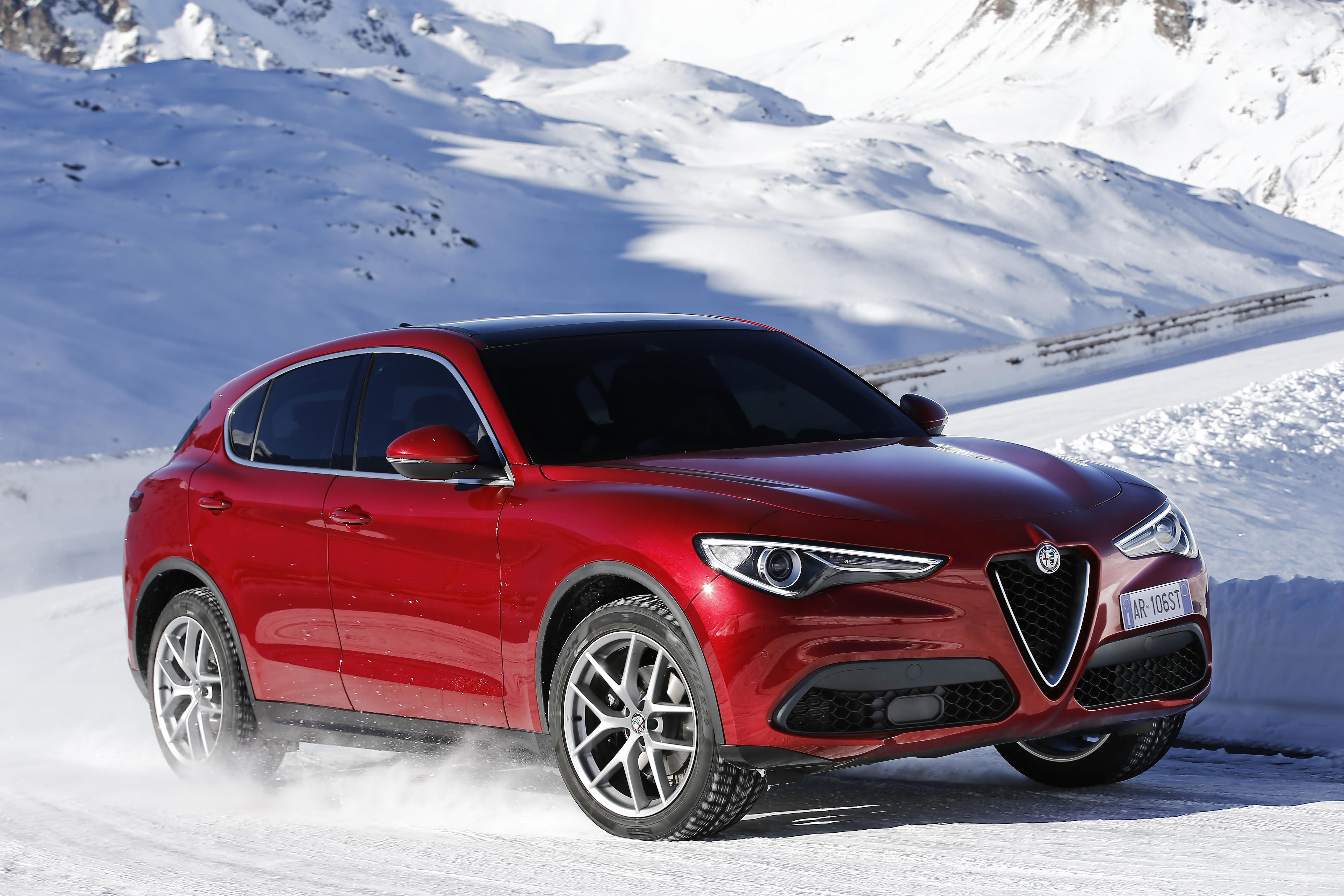 Alfa Romeo Stelvio Alfa Romeo Stelvio Testbericht 2017