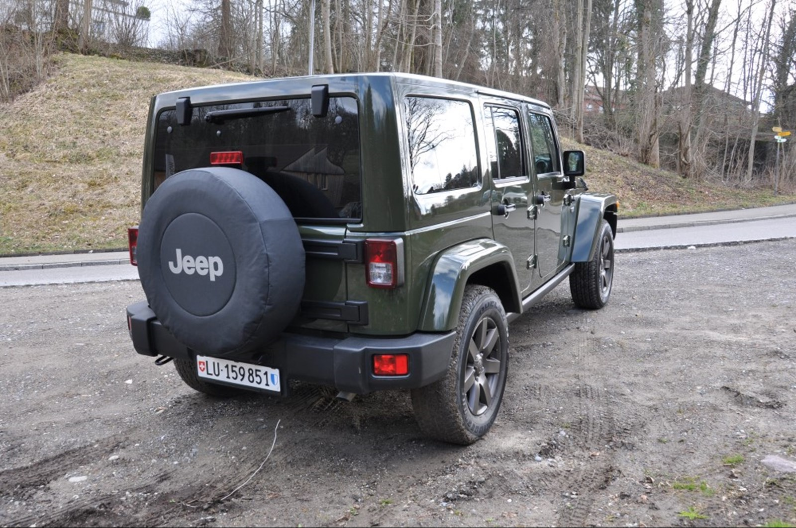 JEEP WRANGLER - Testbericht Jeep Wrangler (2016) – 75 Jahre Matsch ...