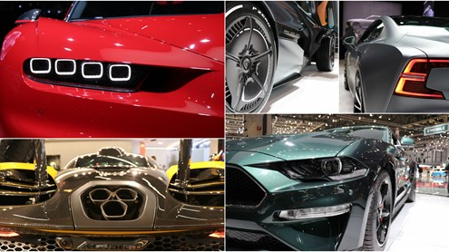 Highlights vom Autosalon Genf 2018