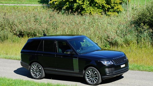 LAND ROVER RANGE ROVER - Lusso off-road