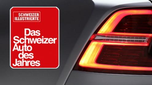 Wählen Sie das Schweizer Auto des Jahres