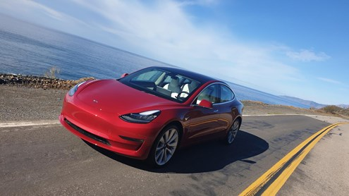 TESLA MODEL 3 - The Sound of Silence