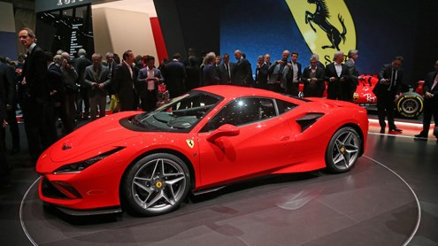 FERRARI F8 TRIBUTO - Der stärkste V8-Ferrari aller Zeiten