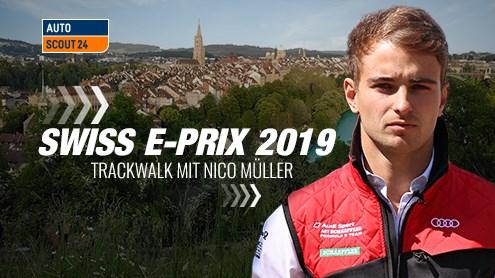 Trackwalk und 3 Fragen an Nico Müller zur Formel-E in Bern