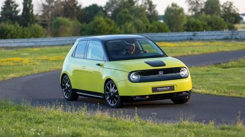 Honda e Prototype – Elektrisch entspannter pendeln
