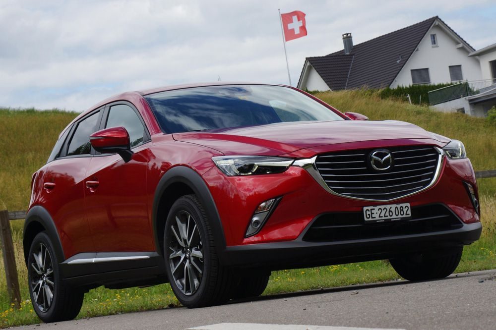 mazda cx 3 mazda cx 3 2015 im test. Black Bedroom Furniture Sets. Home Design Ideas