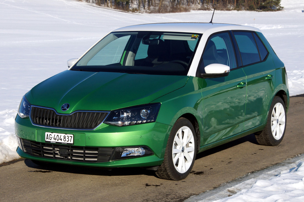 skoda fabia skoda fabia 2015 im test. Black Bedroom Furniture Sets. Home Design Ideas