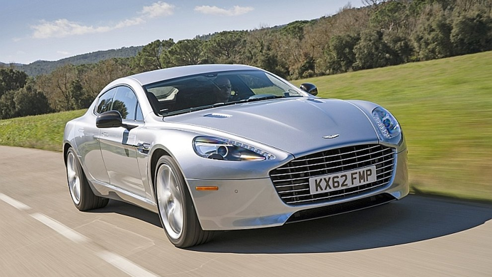Aston Martin Rapide Aston Martin Rapide S Im Test 2013