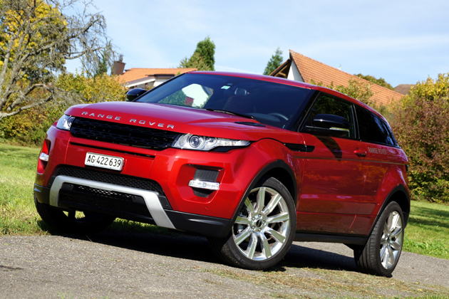 land rover range rover evoque range rover evoque 2012 nel test. Black Bedroom Furniture Sets. Home Design Ideas